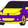 Раскраска: Авто 5 (Fast flame car coloring)