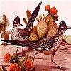 Пятнашки: Птички (Two rookie bird slide puzzle)