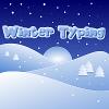Зимняя печать (Winter Typing)