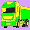 Раскраска: Грузовик 2 (Transport car coloring)