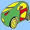Раскраска: Авто 77 (Long taxi coloring)