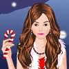 Одевалка: Кэнди (Candy's Christmas Party Dress Up)