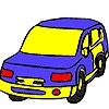 Раскраска: Автомобиль (Luxury street  car coloring)