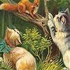Пятнашки: Котик на дереве (Naughty cats on the tree slide puzzle)