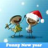 Поиск предметов: Веселый Новый Год (Funny New year. Find objects)