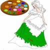 Раскраска: Принцесса (Paint me: Princess)