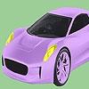 Раскраска: Классная тачка (Smart classic car coloring)