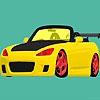 Раскраска: Кабриолет (Focus open top car coloring)