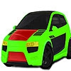 Раскраска: Машина (Fast powerful car coloring)