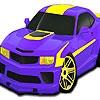 Раскраска: Авто (Speedy custom car coloring)