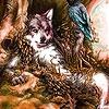 Пятнашки: Волк (Angry friends slide puzzle)