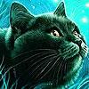 Пятнашки: Черный кот (Porky black cat slide puzzle)
