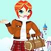 Одевалка: Сэнди (Sindy winter clothes dress up)