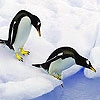 Пазл: Пингвины (Two penguin in the pole puzzle)
