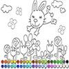 Раскраска: Маленький зайка (Small rabbit coloring)