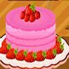 Кулинария: Клубничный торт (Strawberry Cake Decorations)