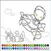 Раскраска: Маленький пилот (Small pilot coloring)