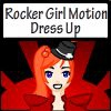 Одевалка: Рок-н-Ролл (Rocker Girl Motion Dress Up)