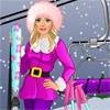 Одевалка: Барби катается на лыжах (Barbie goes Skiing)