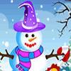 Одевалка: Снеговик (Snowman Decor)