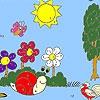 Раскраска: Улитка на прогулке (Garden animals coloring)
