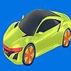 Раскраска: Машина будущего (Best future car coloring)