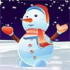 Одевалка: Снеговик (Lovely Snowman Dressup)