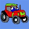 Раскраска: Трактор (tractor colouring jocuri)