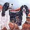 Пятнашки: Собаки в саду (Dogs in the garden slide puzzle)