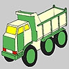 Раскраска: Грузовик (Futuristic truck coloring)