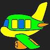 Раскраска: Самолет (Special plane coloring)