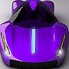 Пазл: Фиолетовый концепт (Purple concept car puzzle)