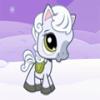 Пони и снегопад (Snowy Pony)