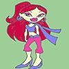 Раскраска: Леди Татьяна (Lady Tanya coloring)