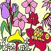 Раскраска: Свежие цветы (Fresh flowers coloring)