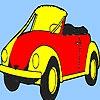 Раскраска: Автомобиль будущего (Concept best future car coloring)