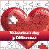 Пять отличий: День Св.Валентина (Valentine's day)