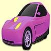 Раскраска: Концепт авто (Three wheeled concept car coloring)