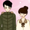 Одевалка в стиле Манга (Shoujo Manga valentine couple dress up game)