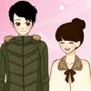 Одевалка в стиле Манга (Shoujo Manga valentine couple dress up game)