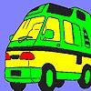Раскраска: Микроавтобус (Fabulous Caravan coloring)
