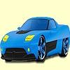 Раскраска: Турбо (Turbo fast car coloring)