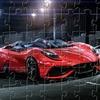Пазл: Феррари (Ferrari Berlinetta Jigsaw)