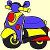 Раскраска: Концепт мотоцикла (Concept motorbike coloring)
