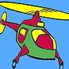 Раскраска: Вертолет (Air helicopter coloring)