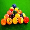 Пазл: Бильярдные шары (Jigsaw: Pool Balls)