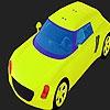 Раскраска: Большая машина (Big pistachio car coloring)