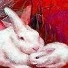Пазл: Кролики (Winter rabbits puzzle)