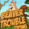 Печать: Малыш бобер (Beaver Trouble Typing)