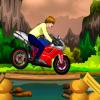Джастин Бибер: поедка на мотоцикле (Justin Bieber Bike Riding)